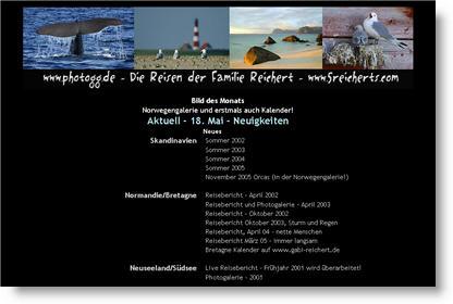 Die Reisen und Photos der Reicherts