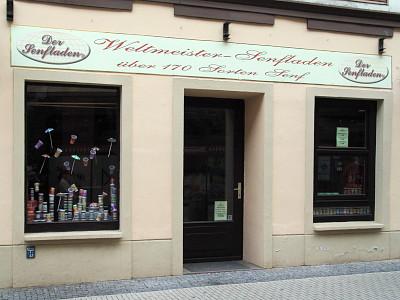 Altenburger Senfladen in der Geraer Johannisstraße