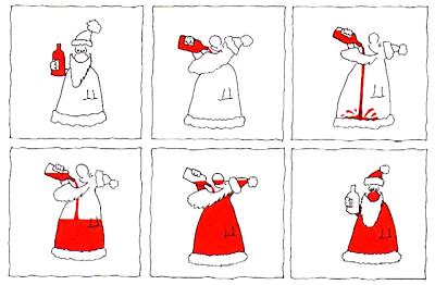 Wie entsteht ein Weihnachtsmann?