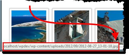 WordPress - Galerieeinstellungen - Galerie linkt im Artikel korrekt auf Datei