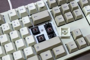Cherry-MX-Brown-Switches der Durgod Taurus K310